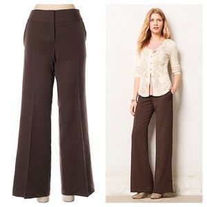 Anthropologie Elevenses Kirby Wide Leg Trouser